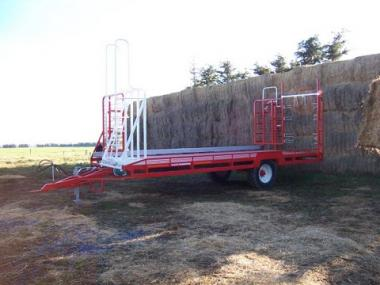 Feed out wagon