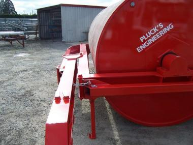 Water Ballast Land Roller
