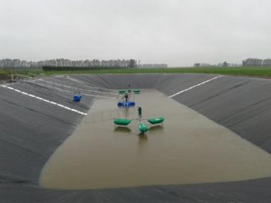 Effluent Pond Stirrer