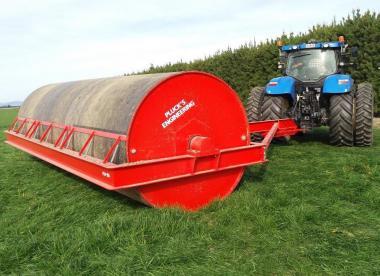 Water Ballast Land Roller