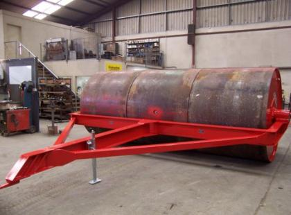 Triple Drum Water Ballast Land Rollers