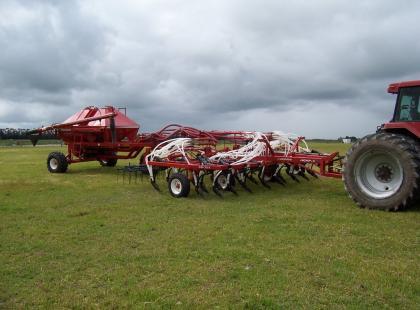 Cultivator Air Seeder